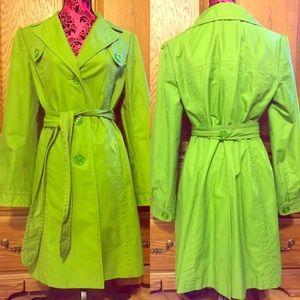 Anne Taylor Loft Trench Style Rain Coat 🧥 ☔️